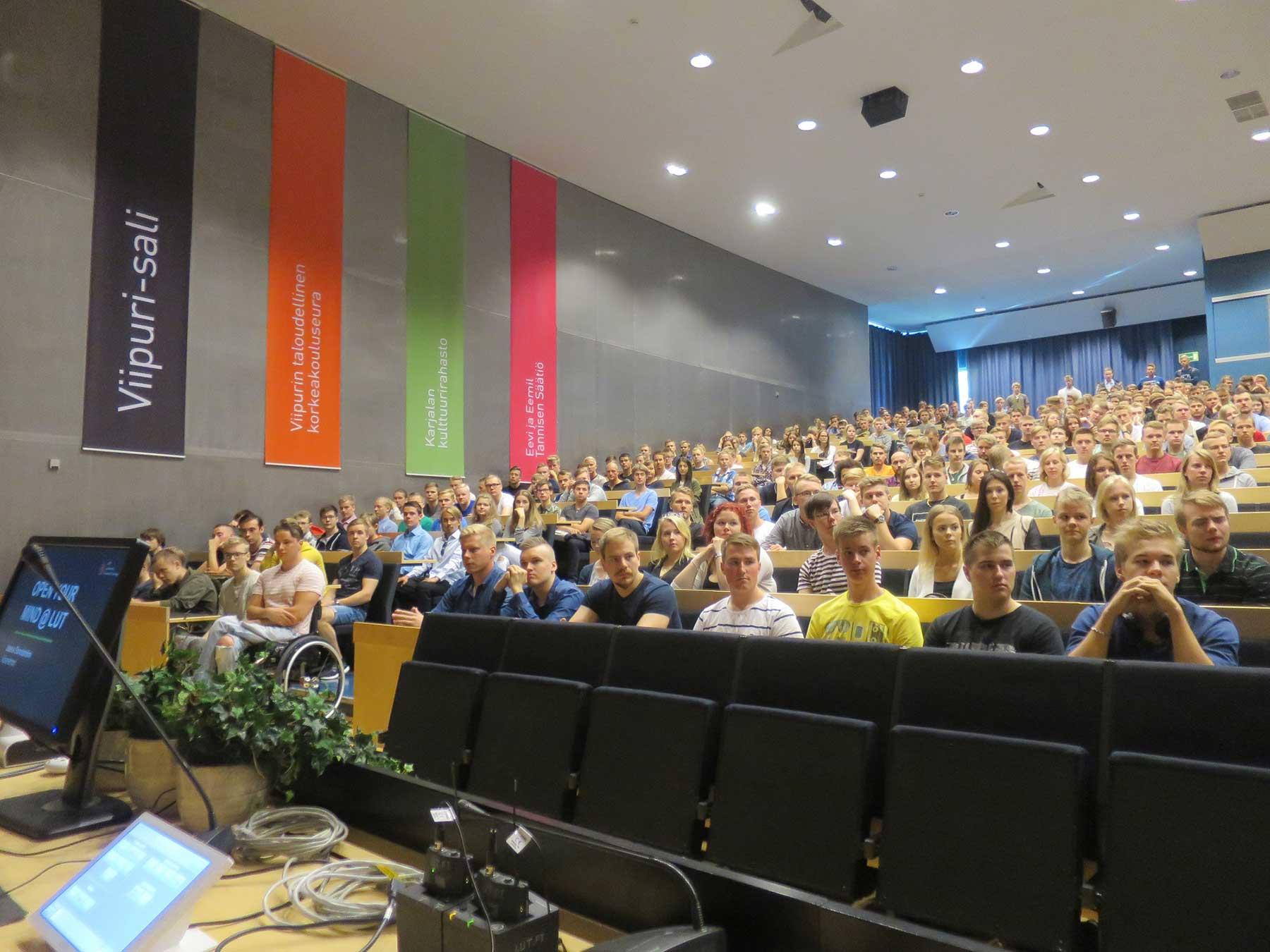 Orientation week at LUT University