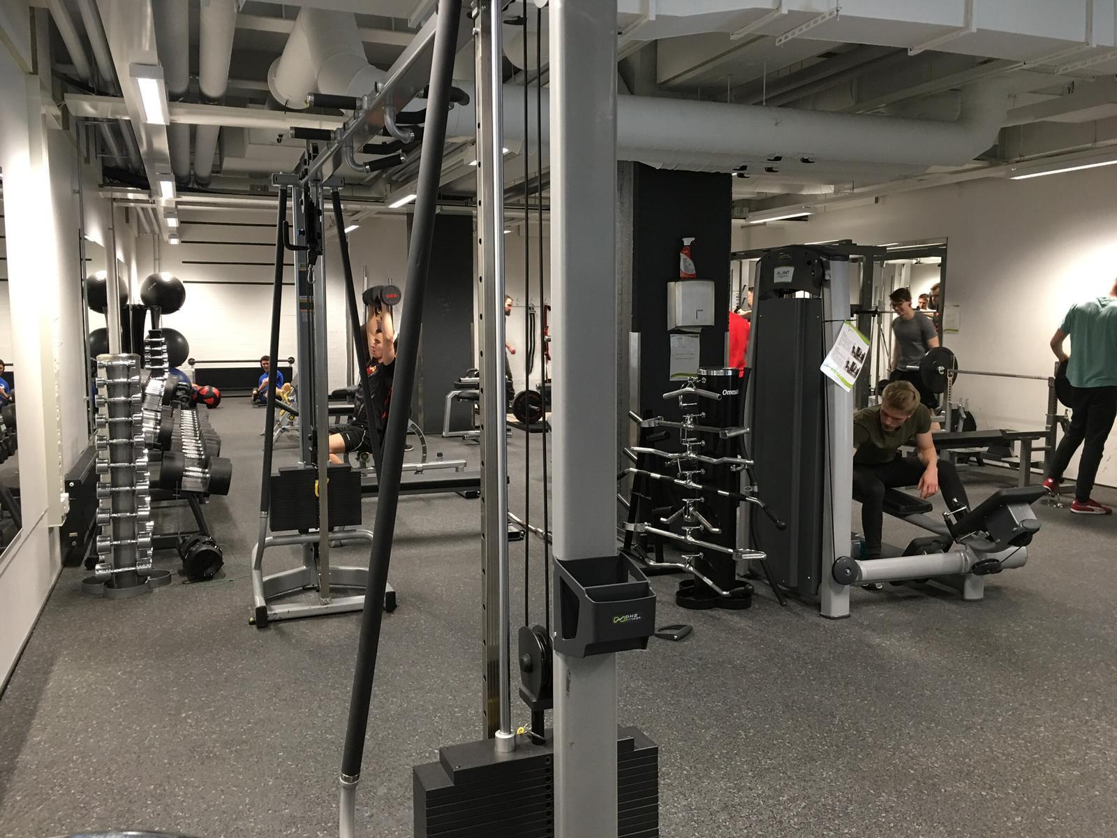Liikuntamahdollisuudet Lappeenrannassa ja Skinnarilan kampuksella