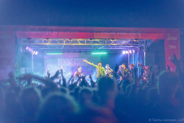 Night festivals in the campus
