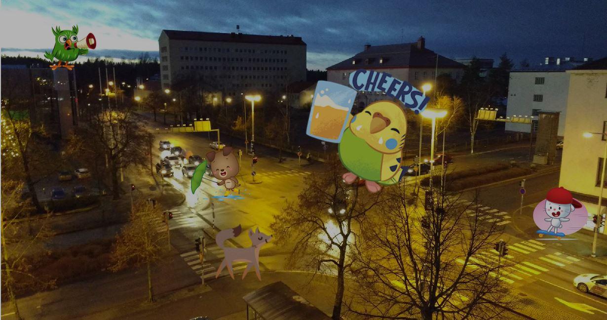 Finnish Street Animals