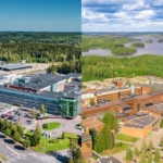 LUT University campuses in Lappeenranta and Lahti